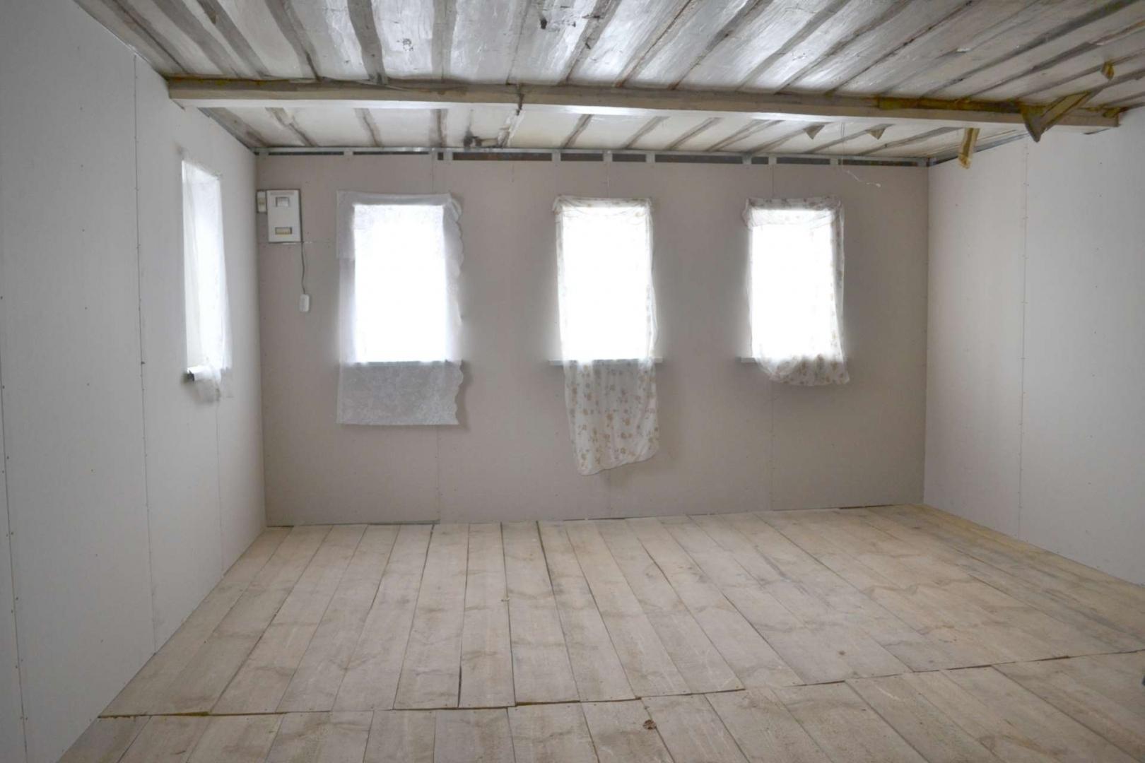 отделка деревянного дома внутри гипсокартоном