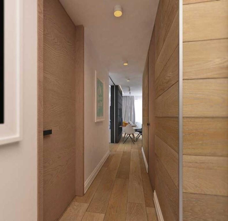 следующий ламинат на стену фото в коридоре иллюзии долины привидений