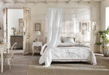 Elegant-romantic-beds-design-with-curtains