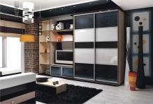 Как подобрать шкаф в гостиную в современном стиле: 4 правила и варианта