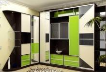 Разнообразие шкафов в зал: 7 конструктивных моделей