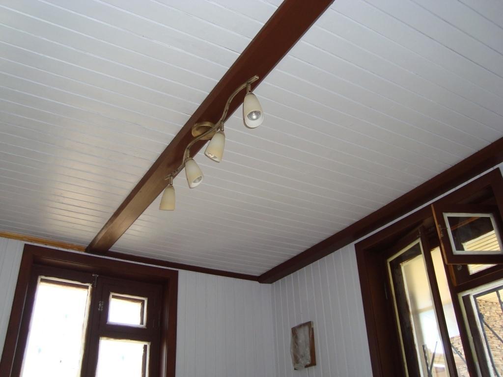 вагонка для потолка в доме