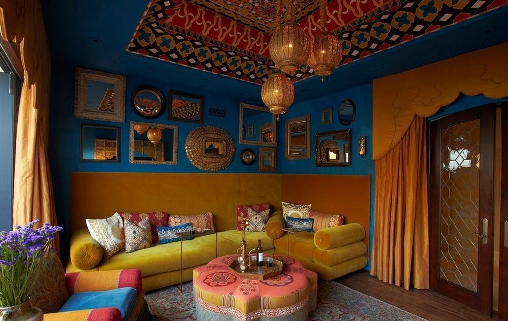 дизайн квартиры в марокканском стиле фото вспоминают