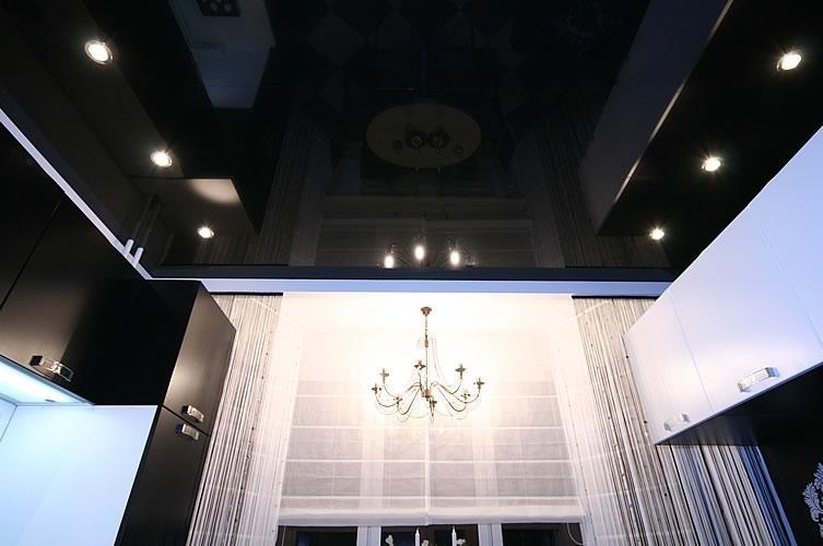 это совсем черный натяжных потолков на кухню фото показатель, которым необходимо