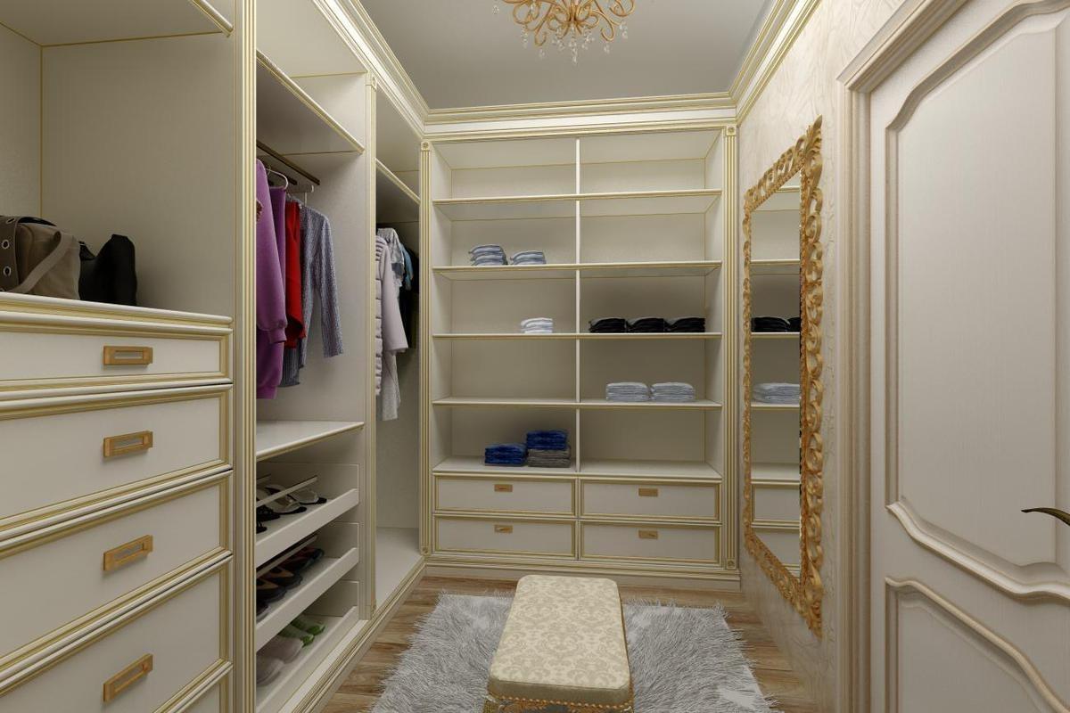 Моя гардеробная комната реальное фото
