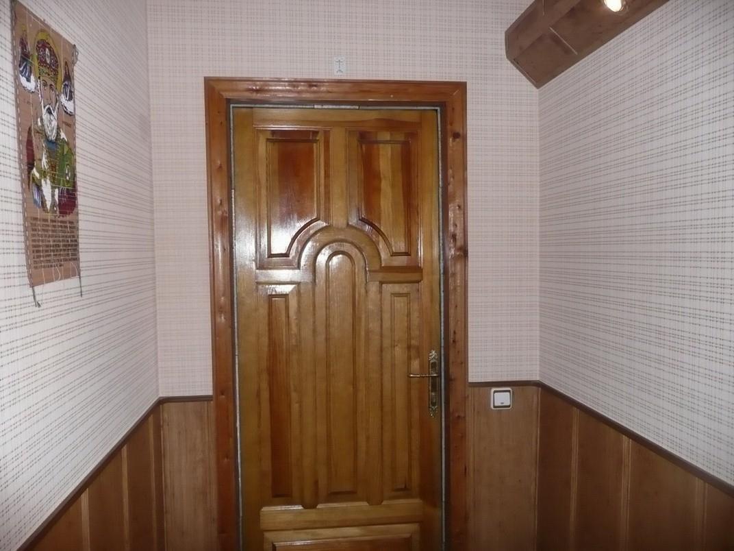 коридор панелями дизайн фото отцом