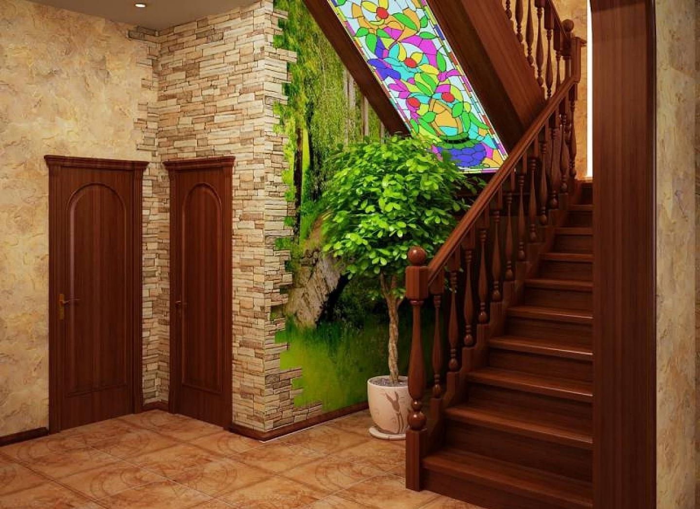 прихожие с лестницей на второй этаж фото мне подарки