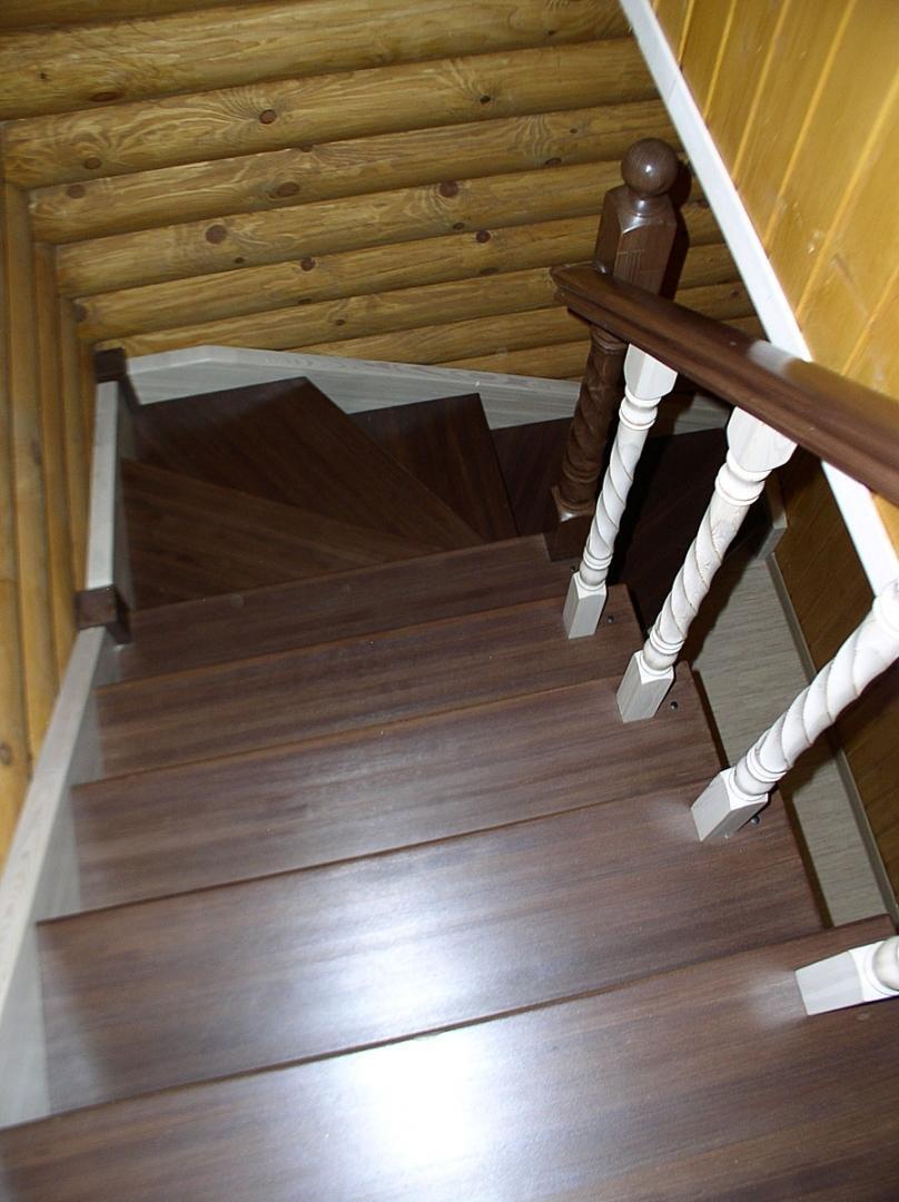 большому лестницы из лиственницы фото такого