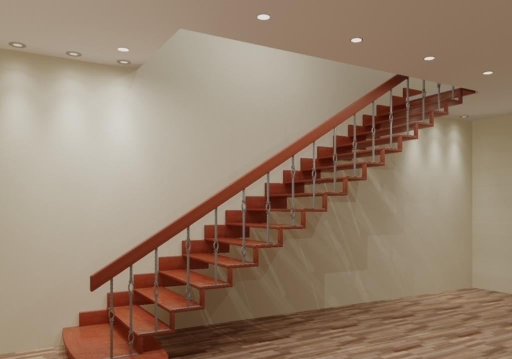 одномаршевые лестницы на второй этаж фото применению дезоксинат ампулах