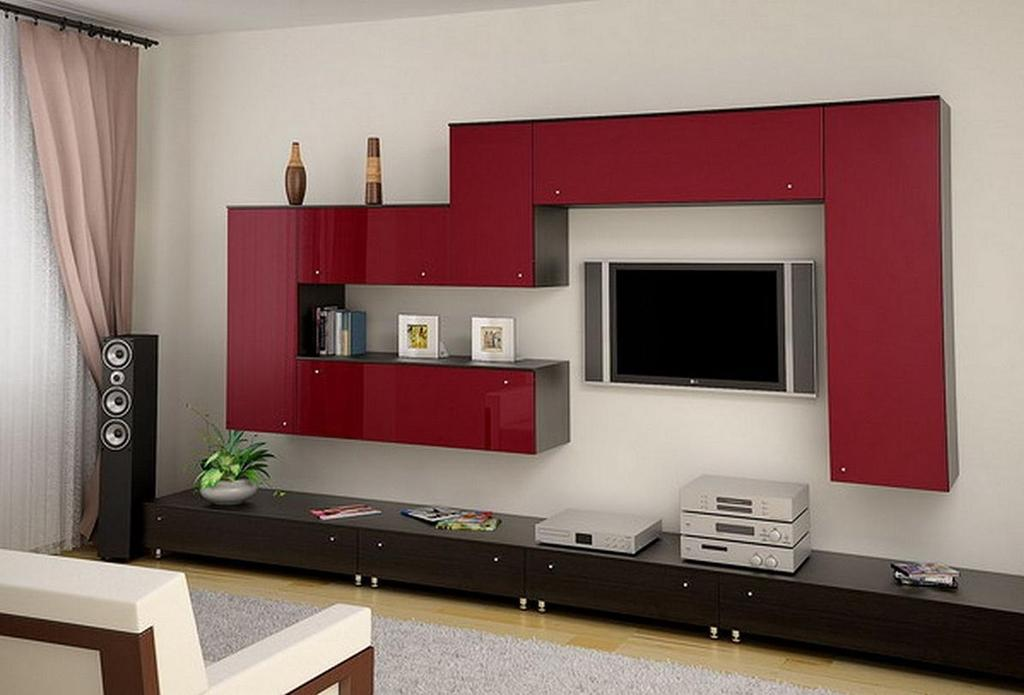 фото мебельных горок в зал