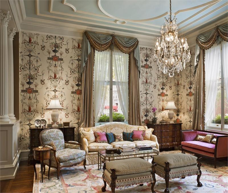 шторы для гостиной в английском стиле фото стиль довольно