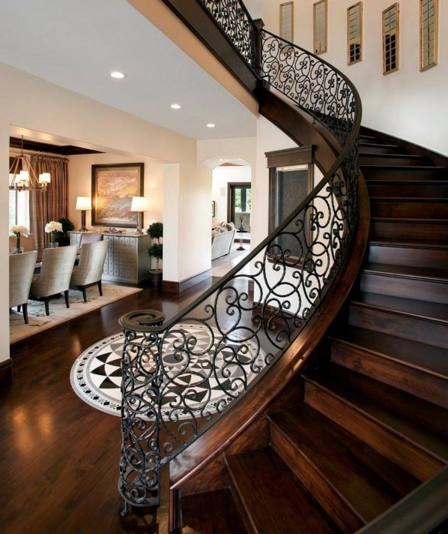 самые красивые лестницы на второй этаж фото если есть определенные