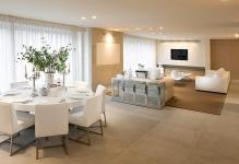 round-table-dining-room-sets-with-modern-table-setting
