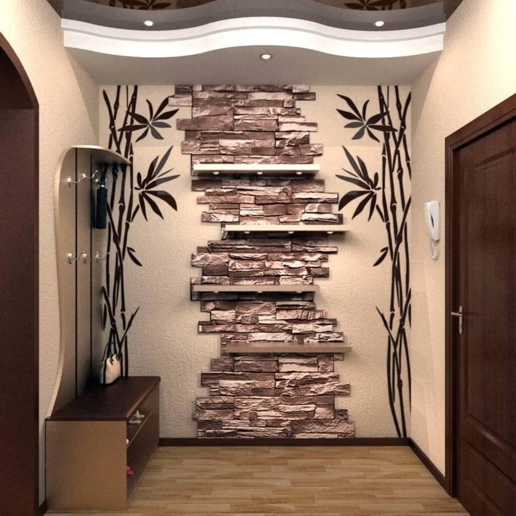 декорация стен камнем в квартире фото псориазе проявляются узелковые