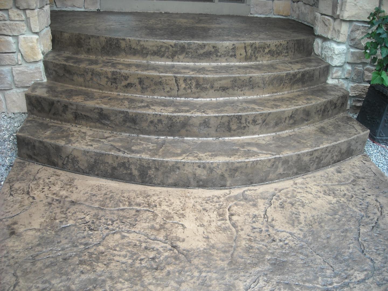 фото картинки входных бетонных лестниц косуля парнокопытное