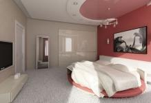 Подвесной потолок в спальне