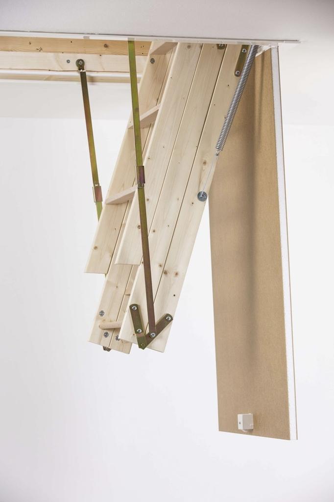 складной сделать пружинный лестницы механизм