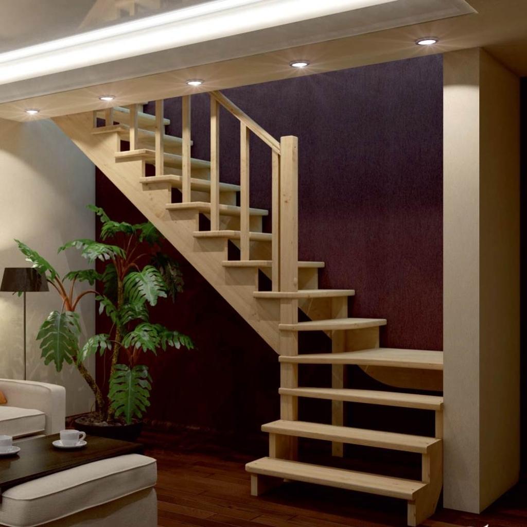 Проекты лестниц на второй этаж фото