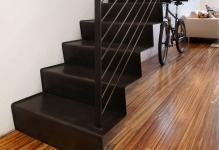 modern-custom-folded-cantilevered-steel-staircase-and-zebrano-plank-flooring-design-ideas