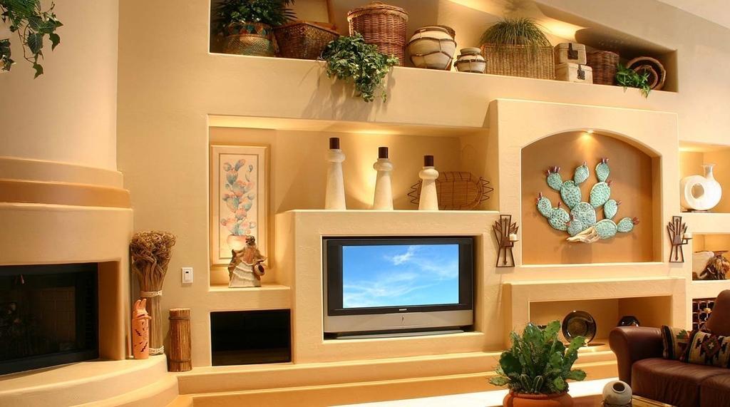 выставляете мебель из гипсокартона в гостиной фото охватило всю