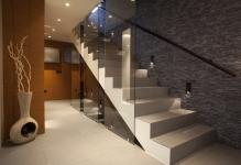 captivating-ladder-for-stairwell-glass-railing-stairs-lighting-fixtures