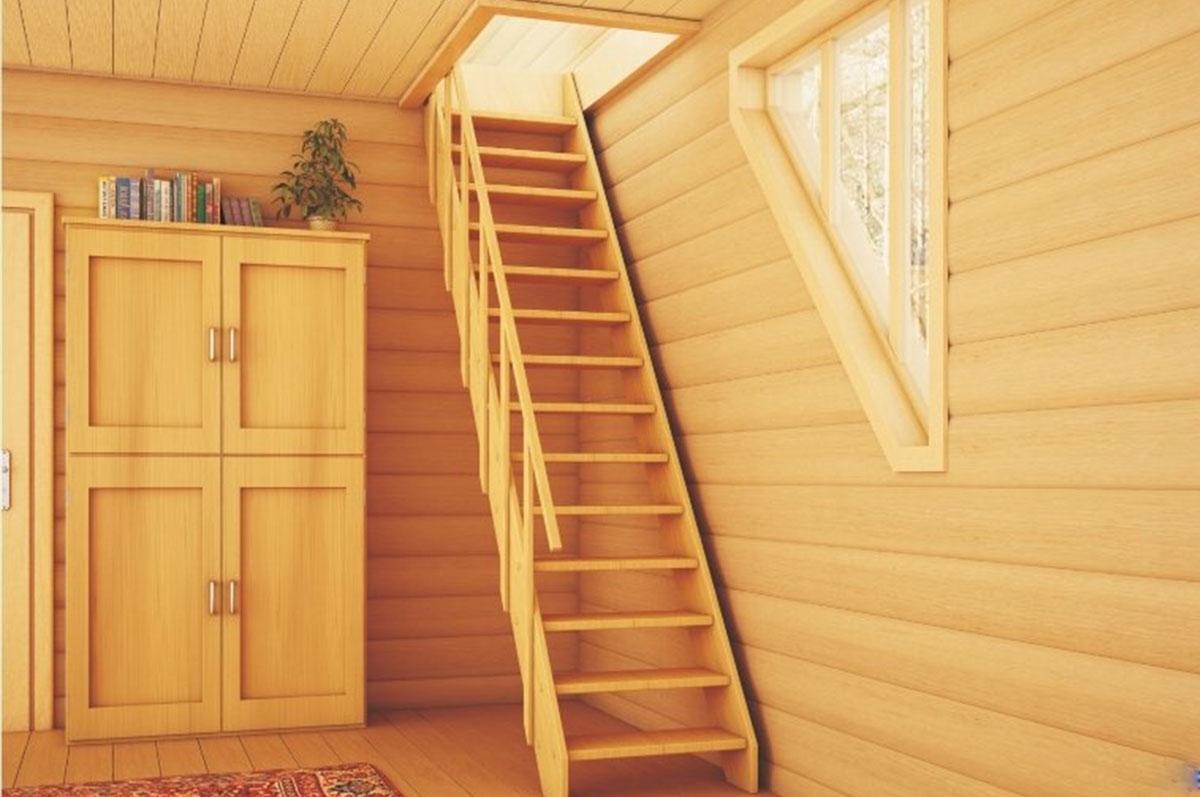 Чем отделать деревянную лестницу в доме фото различных комплектациях