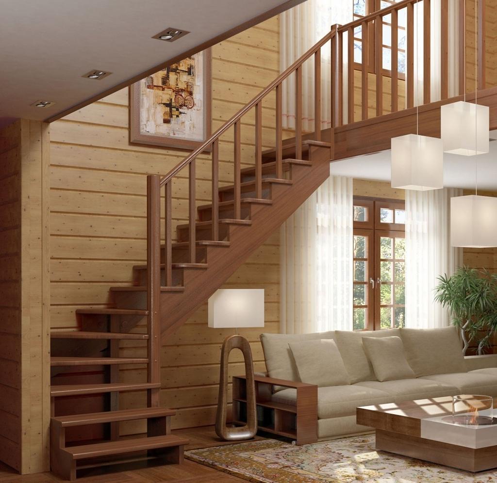 Внутриквартирные лестницы фото