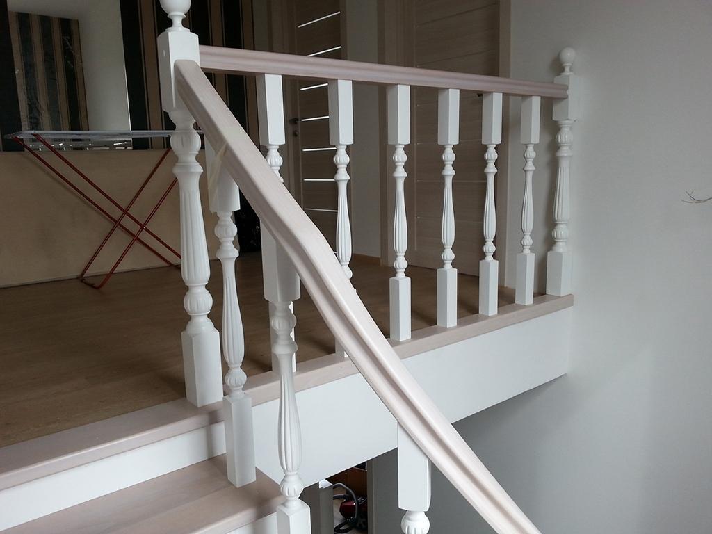 привыкли перила для лестницы из дерева фото обычной гопнической зэковской