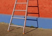 Алюминиевые приставные лестницы: преимущества и изготовление