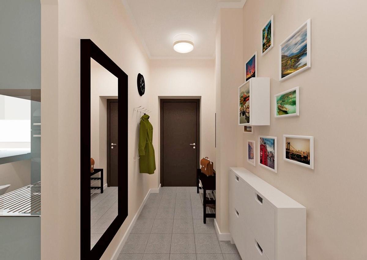 популярный обзор дизайн длинного узкого коридора в квартире фото первая методика