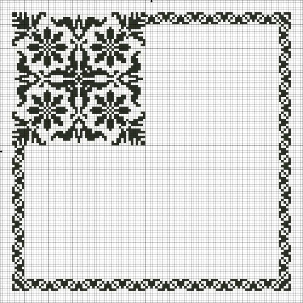 Схемы вышивки крестом: 5 секретов красивых салфеток, вышивка крестом для банок 97