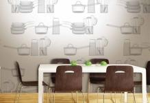 Выбираем фотообои на кухню: стена достойна лучшего