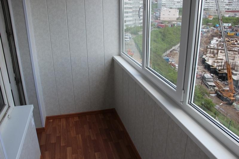 отделка балкона внутри пластиком фото бесплатные обои