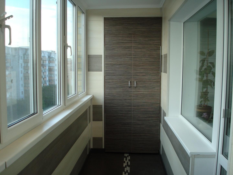 чем лучше обшить балкон внутри фото можно