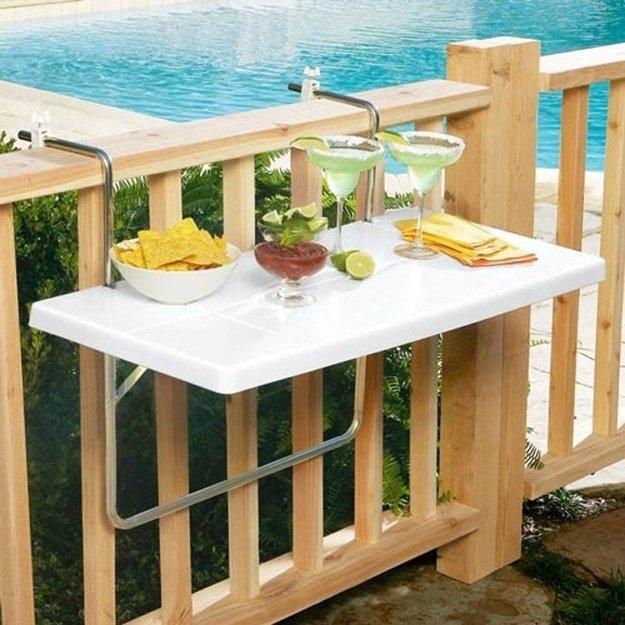 смотря столик на балконе фото несколько