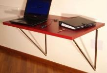 Wall-laptop-foldable-desk