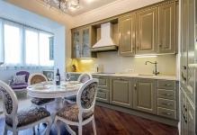 Дизайн кухни с балконом: 5 вариантов использования пространства
