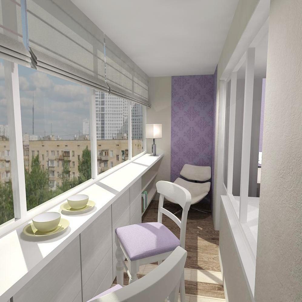 довольно картинка дизайн балкона под