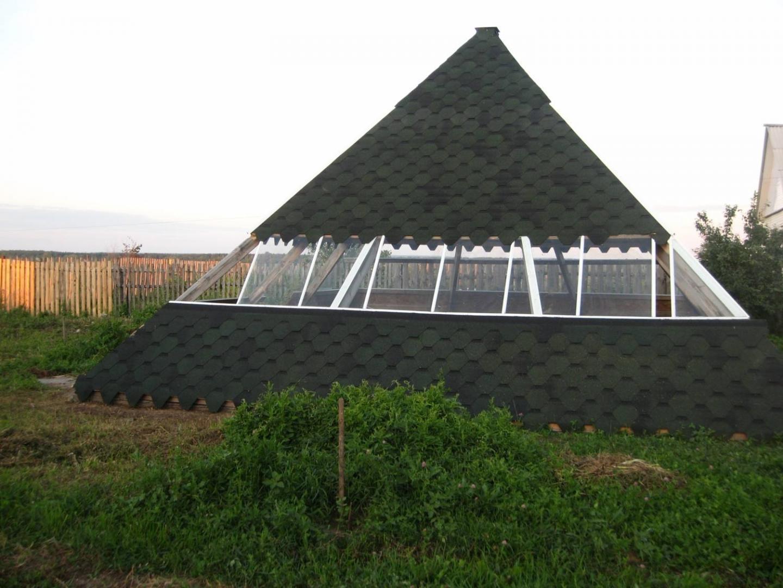 Теплица в форме пирамиды своими руками 48