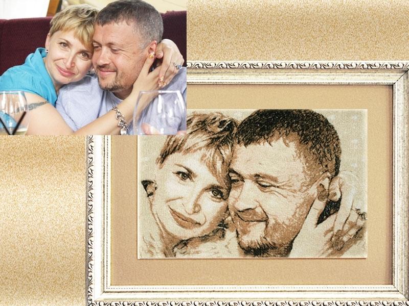 сопка идеальное вышить крестом портрет из фото рамку ткань