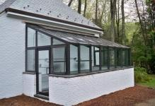 Straight-eave-Lean-to-Greenhouse
