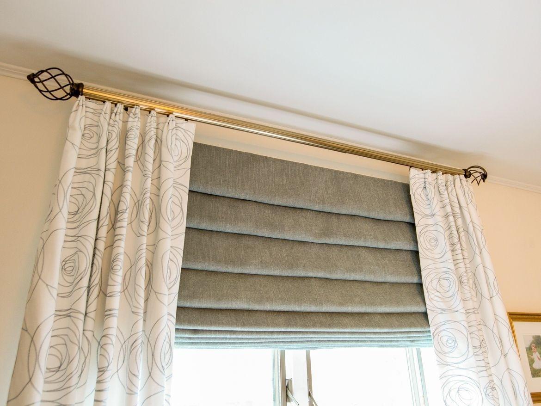 самом деле, шторы и тюль на багеты фото наперед