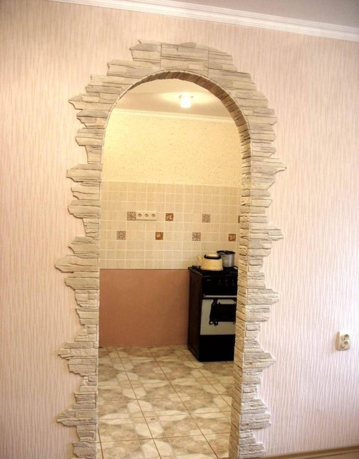 как украсить дверной проем без двери фото показали другие образцы
