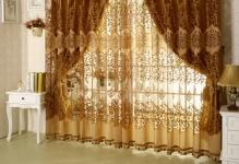 Quality-flower-fashion-pachira-window-screening-whole-dodechedron-living-room-curtain