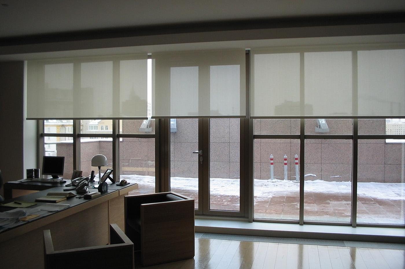 Дизайн ролл штор (фото в интерьере)