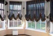 Австрийские шторы в интерьере