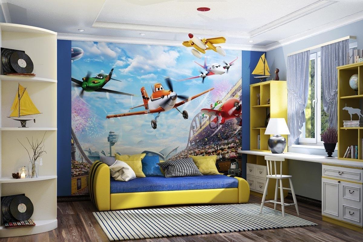 Ремонт детской комнаты для мальчиков в картинках