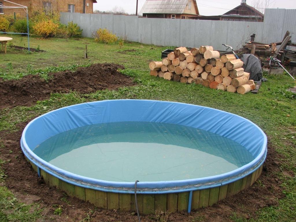 Построить бассейн своими руками проекты фото