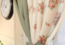 Pastoral-Floral-Jacquard-Multi-colors-Eco-friendly-Curtains-Two-Panels-C1155-03