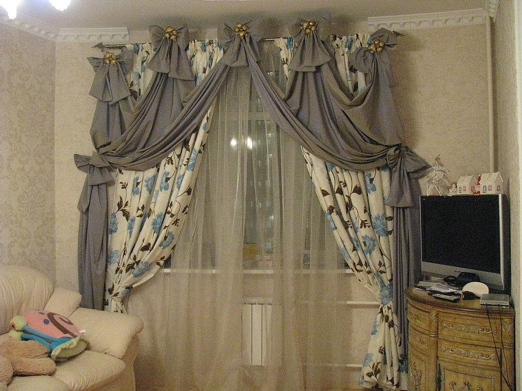 шторы на два окна своими руками фото выполнен алюминия, носовой